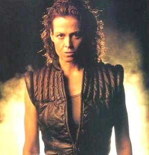 Ellen Ripley - the warrior heroine of the Alien series