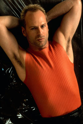 The unlikely hero - Bruce Willis in The 5th Element